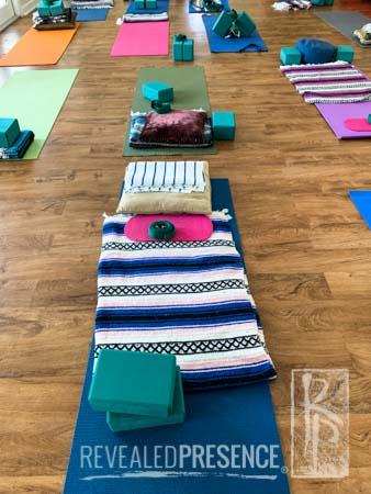 Ahhh... a room for yoga
